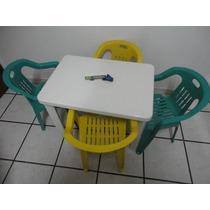 Mesa Infantil Desmontável - Com 4 Cadeiras
