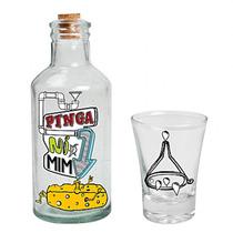 Moringa De Cachaça Pinga Ni Mim Vodka Tequila Garrafa Copo