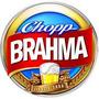 Kit Caixa C/ 50 Bolachas Apoio Copo Chopp Cerveja Brahma