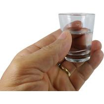 Kit 12 Copos Mini Para Dose Aperitivo Cachaça Tequila 50ml