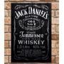 Placa Decorativa Mdf Retrô Jack Daniel
