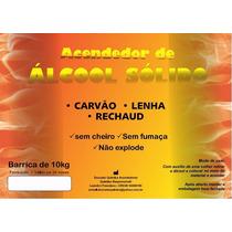 Álcool Sólido Acendedor 10 Kg Rechaud Foundue Churrasqueira