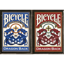 Baralho Bicycle Dragon Back Vermelho Ou Azul - Pôquer Poker