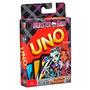 Uno Monster High Cards Game Jogo Cartas Para Família Mattel