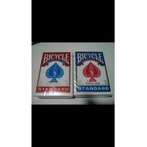 6 Baralhos Bicycle Standard ( 3 Azul 3 Vermelhos) Poker Size