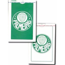 2 Baralho Copag Cartão Coleção Times Futebol Palmeiras Raro