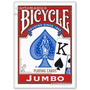 Baralho Bicycle Jumbo Vermelho - Poker Size