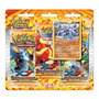 Novo Lacrado Pokémon Triple Pack Machamp Xy 2 Flash De Fogo