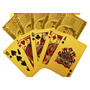 Cartas De Baralho Dourado Ouro Cédula Dólar Poker Blackjack