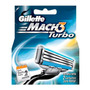 Carga Gillette Mach 3 Turbo Com 2 Cartuchos