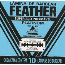 Frete Grátis! ( Gilete ) Feather Caixinha C/10 Laminas