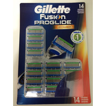 Gillette Fusion Proglide Power Refil C/ 14 Cartuchos.