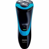 Barbeador Philips At756/16 Aquatouch Plus Preto/azul Bivolt