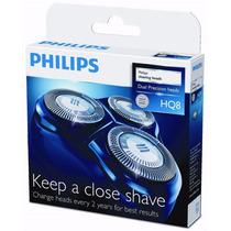 Lâminas De Reposição Hq8 P/ Barbeador Philips - Original +nf