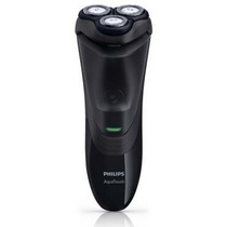 Barbeador Elétrico Philips Aquatouch Preto Bivolt At751