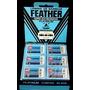 Lâmina Barbear Feather Japonesa Importada 60 Unidades