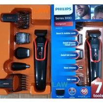 Barbeador Philips Kit Aparador De Pelos Multigroom Bi Qg3340