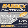 Lamina De Barbear Barbex Platinum Cartela Com 60 Unid