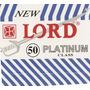 ( Gilete ) Lord Platinum Cartela C/50 Lâminas De Barbear
