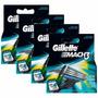Gillette Mach3 Carga Regular C/ 12 Unids