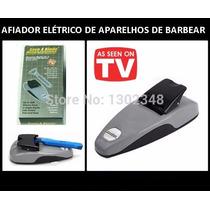 Afiador Amolador Eletrico De Aparelhos De Barbear A Bateria