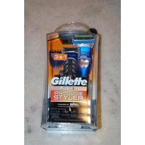 Gillette Fusion Proglide Styler Aparador Barbeador - 3 Em 1