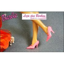 Sapatinho Fashion Para Boneca Barbie * Luxo * Sapato Scarpin