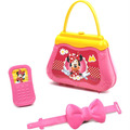 Bolsinha C/ Celular Infantil De Brinquedo Da Minnie-elka 841