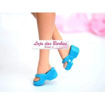 Chinelinho Para Barbie * Sapatinho De Luxo * Sapato Original