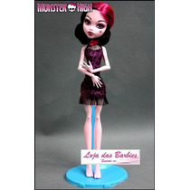 Suporte Azul Para Boneca Monster High * Barbie * Ken * Susi