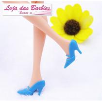 Sapatinho De Luxo Para Barbie * Scarpin Clássico * Sapato