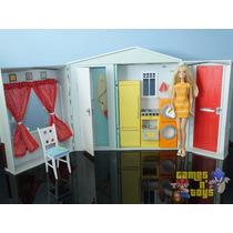 Casa Da Barbie Com Boneca Mattel