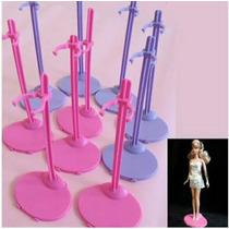 Lote Com 5 Suportes Para Boneca Barbie Susi Monster High