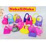 Kit Com 10 Bolsas Fashion * Bolsinhas Para Boneca Barbie