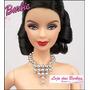 Colar De Luxo Para Boneca Barbie * Dr *acessórios * Roupas
