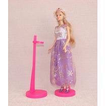 Suporte Barbie, Monster High, Susi - Rosa - 5 Pçs R$ 19,90