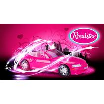 Carro Conversível Para Bonecas Roadster Pink Grande !!!
