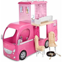 Barbie Pop Up Camper Rv Van De Acampamento Lancamento 2015