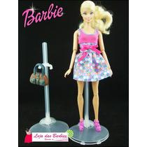 Suporte Transparente Para Boneca Barbie * Susi * Ken * Liv