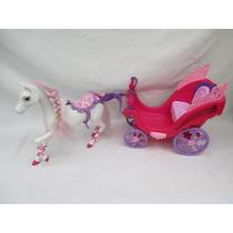 Carruagem Barbie Susi Princesa Cinderela Bonecas Mattel
