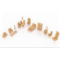 Coleção Mobilia Casa Da Barbie - 20 Peças
