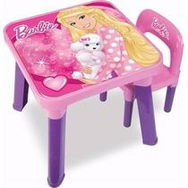 Mesa Com Cadeira Barbie Bb6000