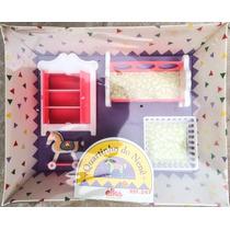 Raridade: Quartinho De Bonecas De Bebê Elka Nova Na Caixa