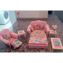 Sala De Estar Casa Dos Sonhos Barbie