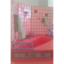 Banheiro Da Casa Dos Sonhos Barbie Anos 90