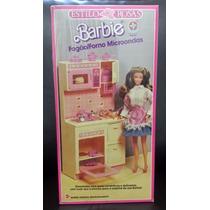 1990 Barbie Estilo Rosas Fogão/forno - Lacrado - Estrela!