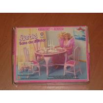 Barbie Estrela Sala De Jantar Estilo Rosas Na Caixa