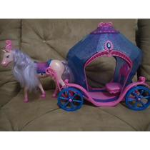 Carruagem Da Boneca Barbie Castelo De Diamante