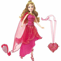 Boneca Barbie Princesa Do Castelo De Diamante Musa Pink -...