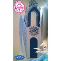 Castelo De Frozen Para Bonecas Barbie